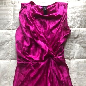Pink Silk Poleci Dress